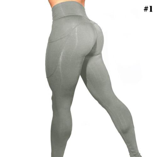 Sexy Women Fashion Slim Yoga Running Pants Stretchy Pants Workout Leggings