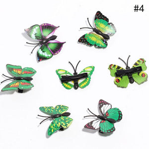 1 Pcs  Butterfly Hair Clips Formal/Casual