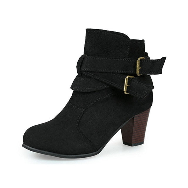 Women Fashion Boots High Heel
