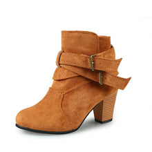 Load image into Gallery viewer, Women Fashion Boots High Heel