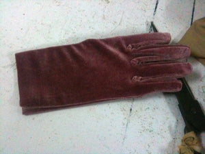 Ladies  Velvet Gloves   H80620L