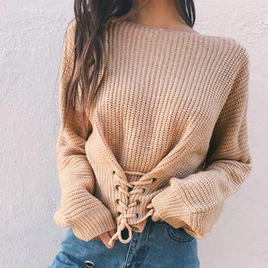 Sexy Women Knitted Sweater