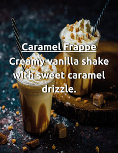 Caramel Frappe Nic Salt House Juice