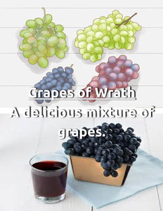 NEW Grapes of Wrath Nic Salt House Juice