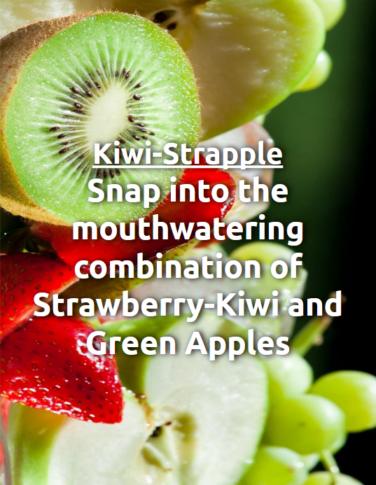 Kiwi-Strapple House Juice
