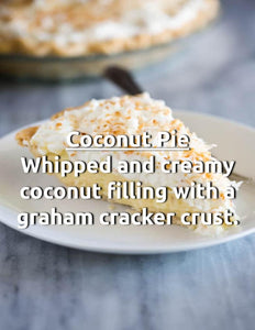 Coconut Cream Pie House Juice