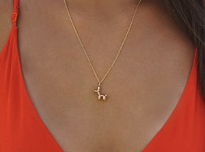 14k Rose Gold Plated Brass