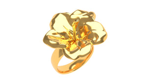 Hawaiian Hibiscus Ring - Zyko.shop