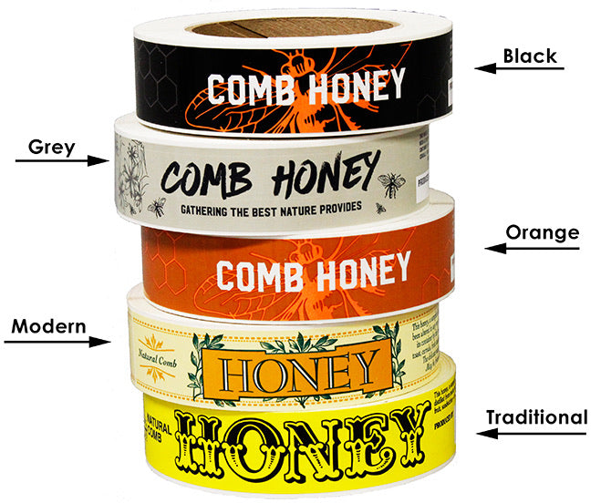 Ross Honey Labels