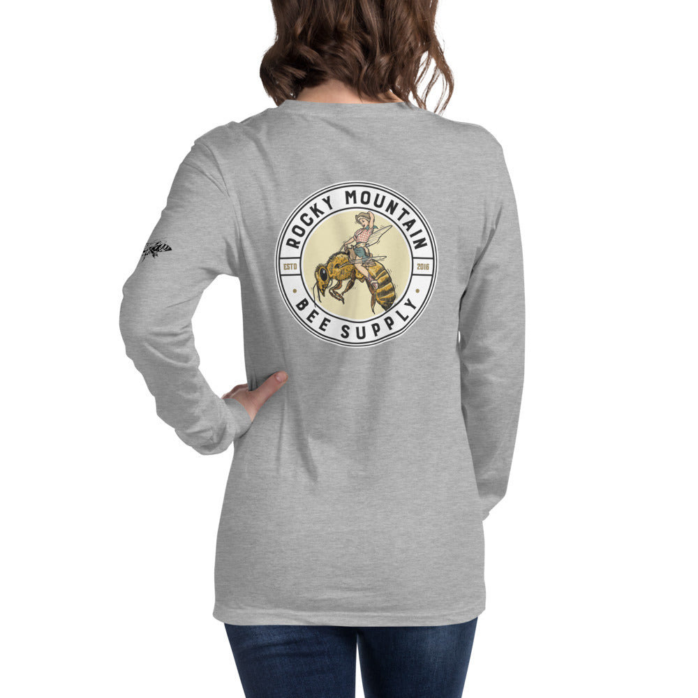 Cowgirl Unisex Long Sleeve Tee