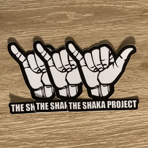3 Pack Vinyl SHAKA STICKERS