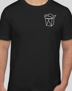 Chinese To-Go Box Chest Logo T-Shirt