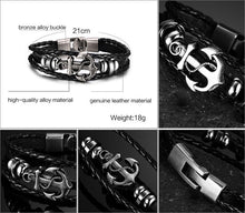 Load image into Gallery viewer, Anchor Bracelet