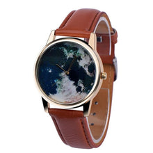 Load image into Gallery viewer, Men / Women's Map Dress Watch