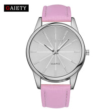Load image into Gallery viewer, Women's Fashion Leather Band Analog Wrist Watch