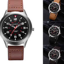 Load image into Gallery viewer, Men's Quartz Leather Strap Watch