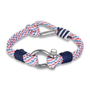 Nautical Rope 2-Loop Bracelet