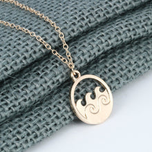 Load image into Gallery viewer, Ocean Waves Pendant Necklace