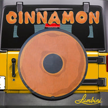 Load image into Gallery viewer, Cinnamon Donut Funny Custom Spare Tire Cover