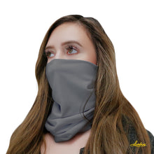 Load image into Gallery viewer, Gray Neck Gaiter