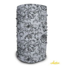 Load image into Gallery viewer, White Roses Neck Gaiter