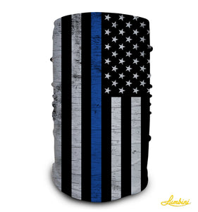 Police Blue Lives Neck Gaiter