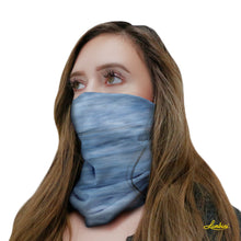 Load image into Gallery viewer, Misty Sky Neck Gaiter