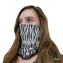 Load image into Gallery viewer, Zebra Neck Gaiter