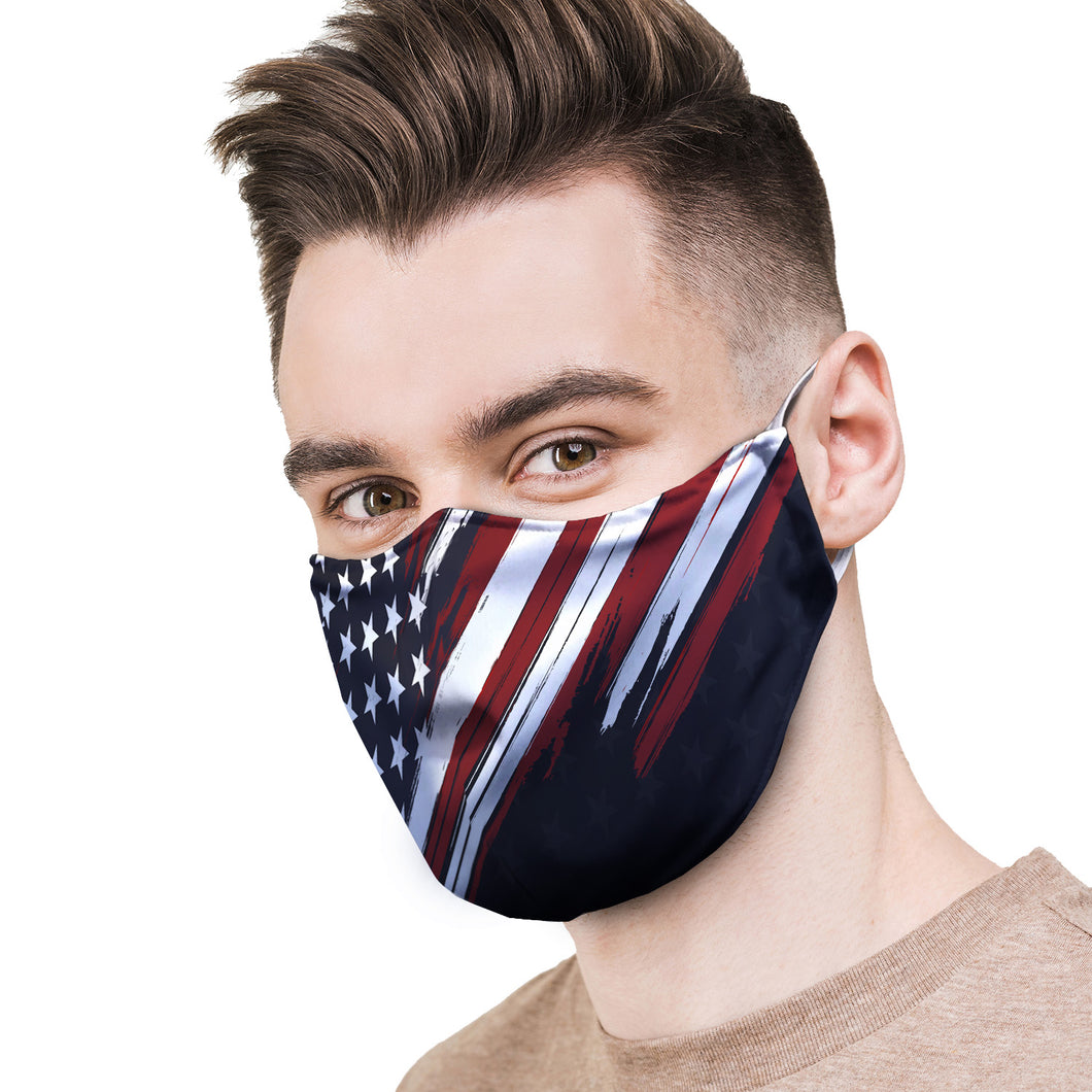 American Flag Protective Reusable Face Mask