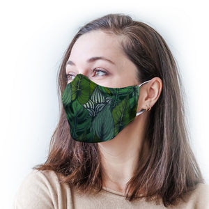 Foliage Protective Reusable Face Mask