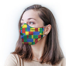 Load image into Gallery viewer, Color Blocks Protective Reusable Face Mask