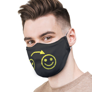 Sad-Happy Protective Reusable Face Mask