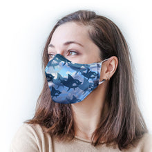 Load image into Gallery viewer, Sharks Protective Reusable Face Mask