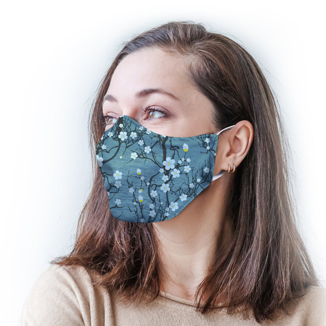Cherry Blossom Protective Reusable Face Mask