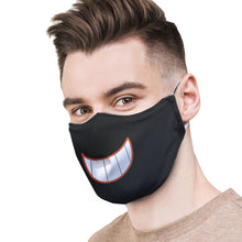 Load image into Gallery viewer, Happy Grin Protective Reusable Face Mask
