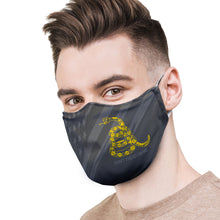 Load image into Gallery viewer, American and Gadsden Flag Protective Reusable Face Mask