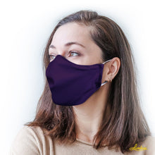 Load image into Gallery viewer, Solid Color Protective Reusable Face Mask