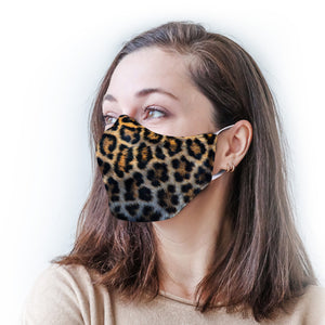 Leopard Protective Reusable Face Mask