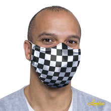 Load image into Gallery viewer, Checkered Protective Reusable Face Mask