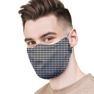 Houndstooth Protective Reusable Face Mask