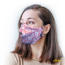 Load image into Gallery viewer, Pink Hawaiian Protective Reusable Face Mask