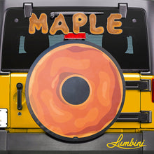 Load image into Gallery viewer, Maple Donut Funny Custom Spare Tire Cover