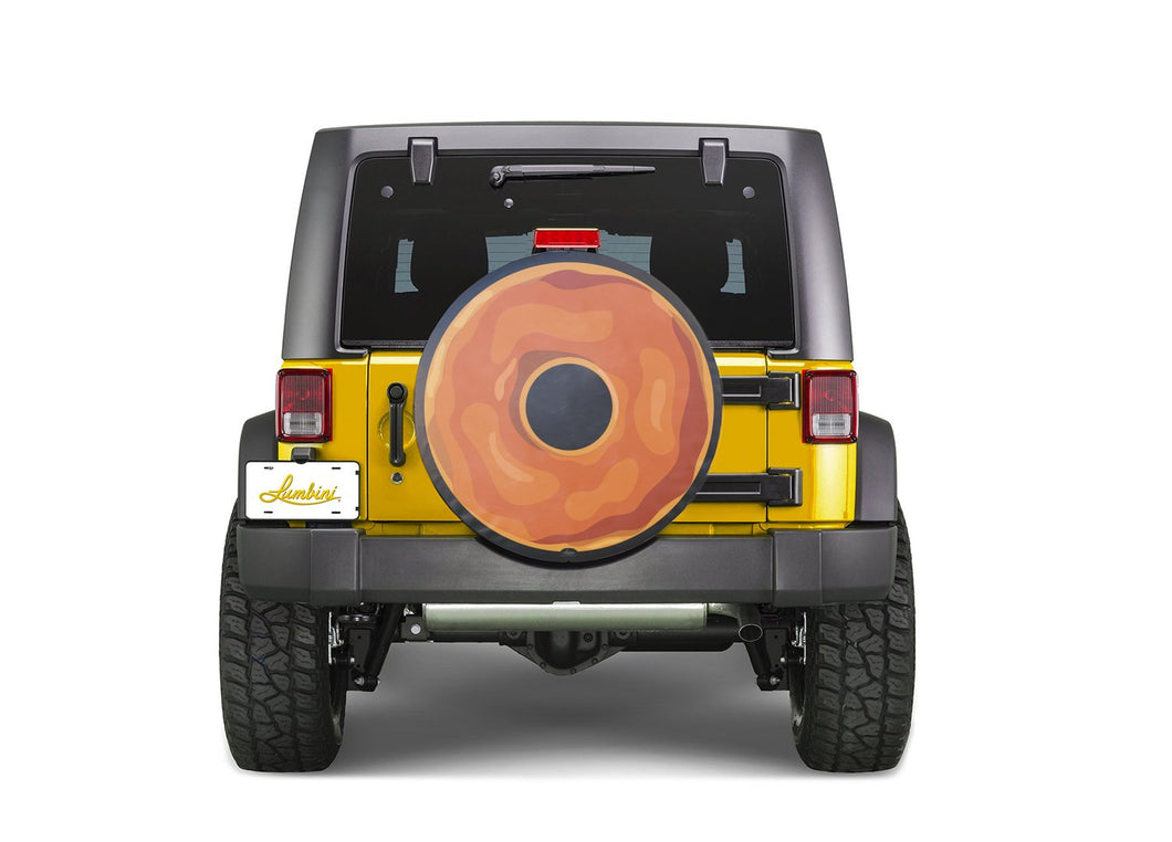 Maple Donut Funny Custom Spare Tire Cover