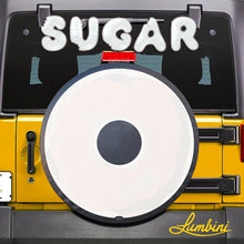 Load image into Gallery viewer, Powdered Sugar Donut Funny Custom Spare Tire Cover