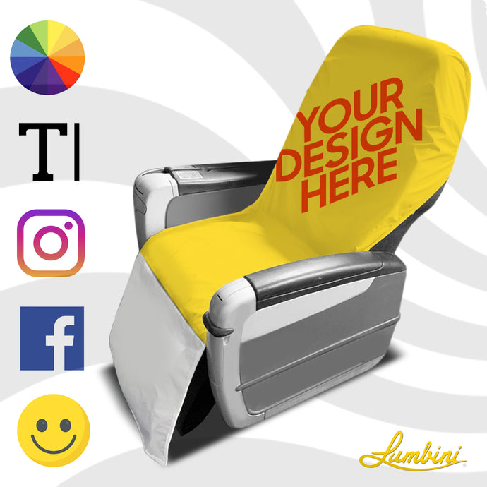 Design Your Own Travel Seat Barrier for Plane, Train, Rideshare, Subway Seat Protection