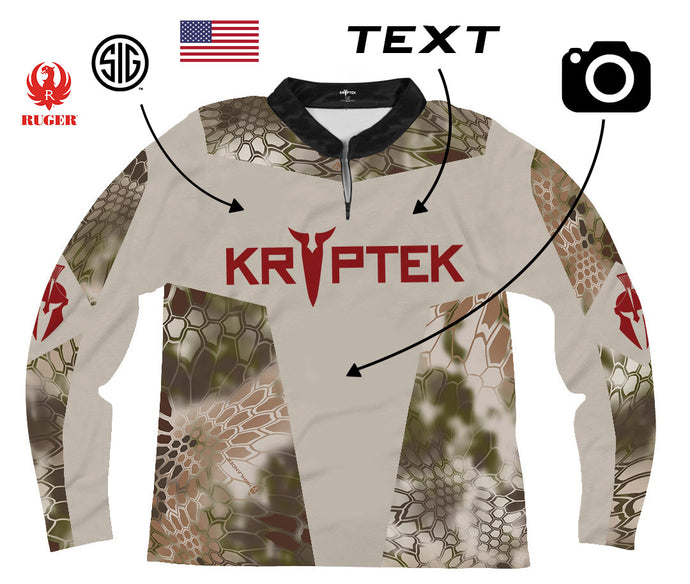 Design Your Own Kryptek Hunting Jersey