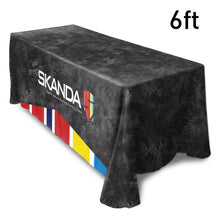 Load image into Gallery viewer, Design Your Own Table Cover, 6ft - Lumbini Graphics