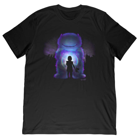 Face the Monster Tee - Black