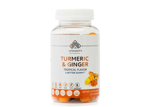 Turmeric & Ginger Gummy ( 120 Count)