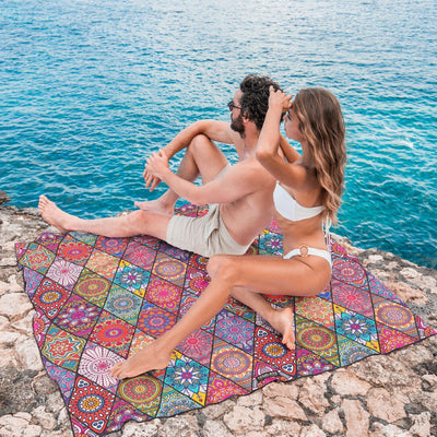 Tesalate - Bohemian - Towel for Two Beach Towel